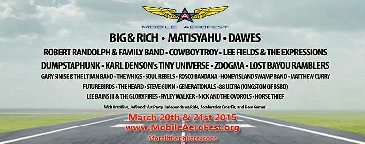 Mobile AeroFest Brings Music, Food, and Sports Together to
