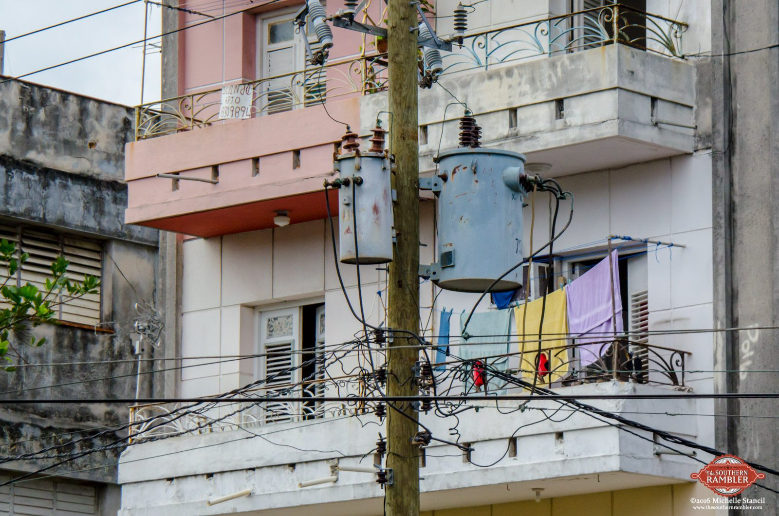 Cuba is powered by an antiquated power system. Some transfomers and equipment are original. (Michelle Stancil)
